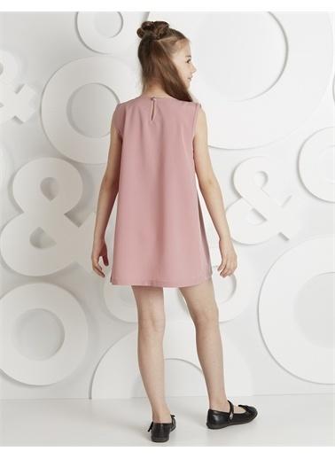 Ollie & olla Çapraz Fırfırlı Elbise Renkli
